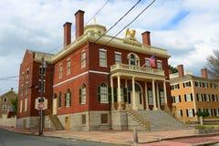 Aduanas, Salem, Massachusetts Fotografía de archivo libre de regalías