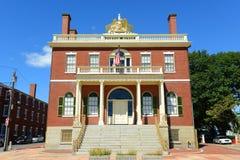 Aduanas, Salem, Massachusetts Foto de archivo libre de regalías