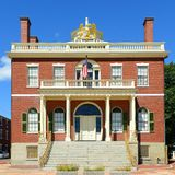 Aduanas, Salem, Massachusetts Fotografía de archivo