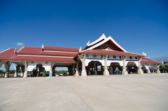 Aduanas tailandesas en el nakraseng de la prohibición, Thali, provincia de Loei Imagen de archivo libre de regalías