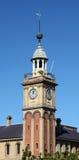 Aduanas - torre de reloj Newcastle Australia Foto de archivo