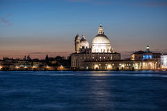 Aduanas Venecia Véneto Italia Europa de la salud y de la extremidad de la iglesia de St Mary Fotos de archivo libres de regalías