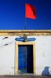Aduanas viejas del acceso de Essaouira Foto de archivo libre de regalías