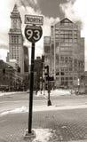 Aduanas viejo de Boston Imagen de archivo