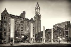 Aduanas viejo de Boston Fotografía de archivo