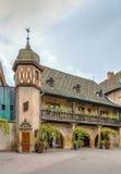 Aduanas viejo de Koifhus, Colmar, Francia Imagen de archivo libre de regalías
