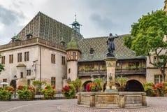 Aduanas viejo de Koifhus, Colmar, Francia Fotografía de archivo libre de regalías