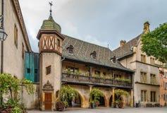 Aduanas viejo de Koifhus, Colmar, Francia Foto de archivo