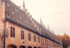Aduanas viejo (douane de Ancienne) en Estrasburgo Fotografía de archivo libre de regalías