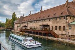 Aduanas viejo, Estrasburgo Fotos de archivo libres de regalías
