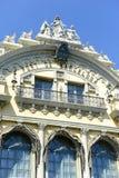 Aduanas viejo que muestra arquitectura española Foto de archivo