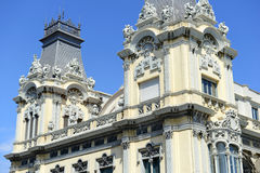 Aduanas viejo que muestra arquitectura española Imagen de archivo