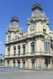 Aduanas viejo que muestra arquitectura española Imagenes de archivo