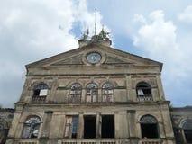Aduanas viejo viejo del st Bangkok del reloj Imagenes de archivo