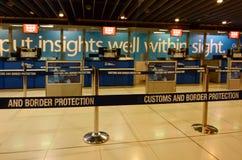 Aduanas y servicio de protección australianos de la frontera Imagenes de archivo