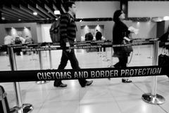 Aduanas y servicio de protección australianos de la frontera Fotografía de archivo libre de regalías