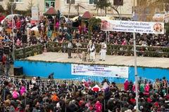 Aduanas y tradiciones ancestrales del festival Imagen de archivo libre de regalías