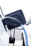 Ładuje elektryczny pojazd Obraz Stock