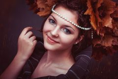 Adult, Attractive, Autumn Royalty Free Stock Photo