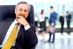 Adult background blur board boss business businessman businesspeople Royalty Free Stock Photo