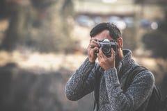 Adult, Blur, Camera Stock Photo