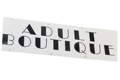 Adult Boutique Royalty Free Stock Photo