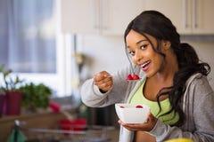 Adult, Bowl, Brunette stock image