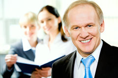 Adult business man royalty free stock image