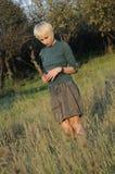 Adult business woman analyzing Stock Photo