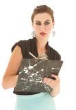 Adult Caucasian businesswoman Stock Images