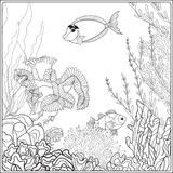 hawaiian coral reef coloring pages - photo#38
