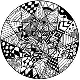 Adult coloring page Stock Photos