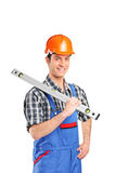 Adult constructor worker Stock Photography