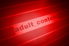 Adult content background Royalty Free Stock Image