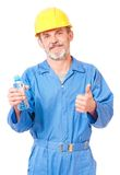 Adult contractor Royalty Free Stock Photography