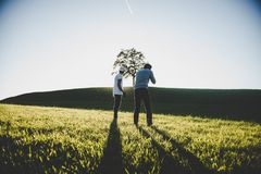 Adult, Countryside, Cropland, Farm Stock Photography