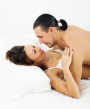Adult couple having sex Royalty Free Stock Photos