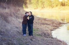 Adult couple Stock Photo