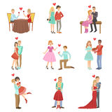 Adult Couples On A Date Stock Photography