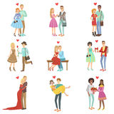 Adult Couples In Love Royalty Free Stock Photos