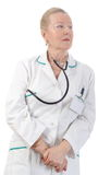 Adult doctor Royalty Free Stock Image