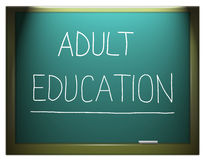 Adult education. Stock Photo