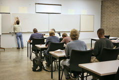Adult Education - Calculus Stock Image
