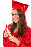 Adult Education Graduate Stock Image