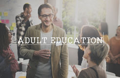 Adult Education Learning Study School Concept.  royalty free stock images