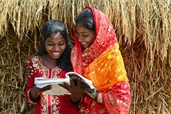 Adult Education in Rural India Royalty Free Stock Photo