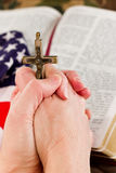 American faith Stock Image
