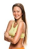Adult fitness woman portrait Stock Images