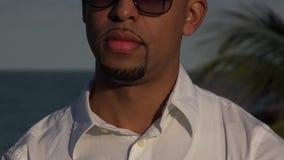Adult Hispanic Male Tourist stock footage