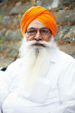 Adult indian sikh man Stock Photo